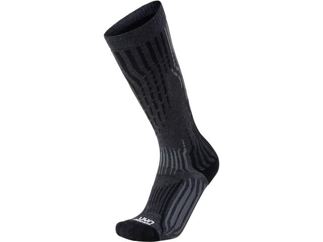 UYN Cashmere Ski Socks Herre grey rock/black